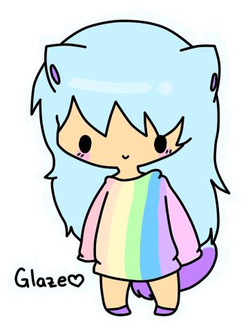Glaze The Human by Hyper-Kitteh