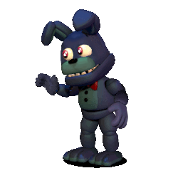 Adventure Withered Bonnie Fixed PNG by Querez854