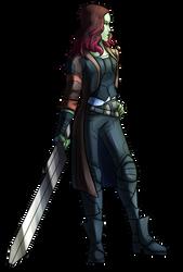 Gamora by Violetthefox0001