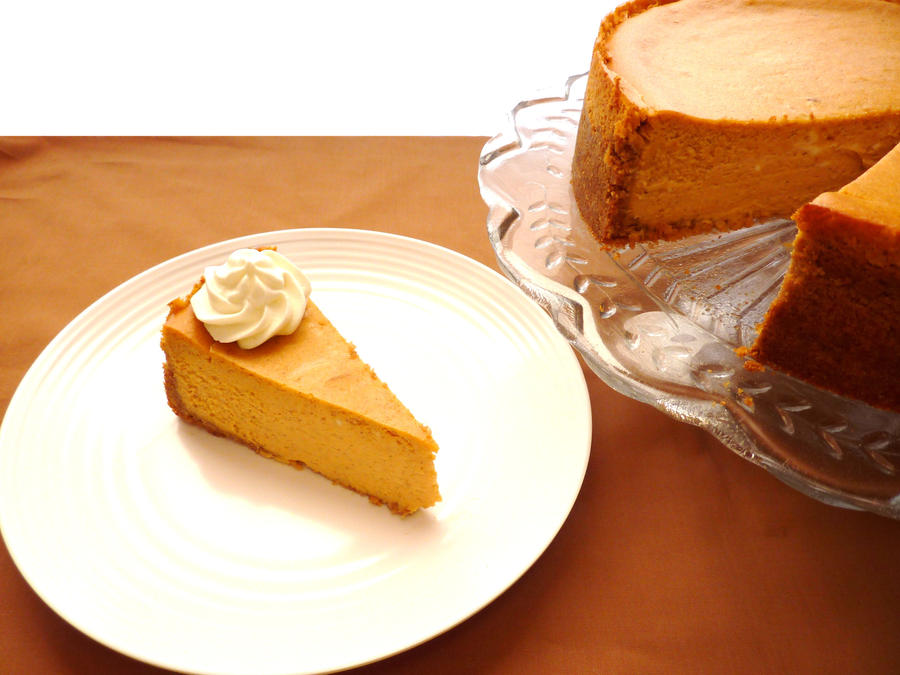 Pumpkin Cheesecake II by LoveandConfections on DeviantArt