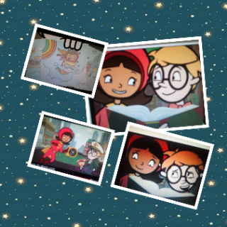 WordGirl and Tobey collage by JTSfan4ever11