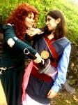 Merida and Mulan