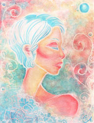 Azure Pearl by FollowsChalk
