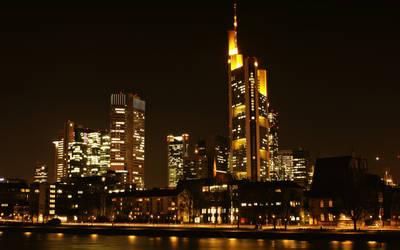 Frankfurt at night_I by deoroller