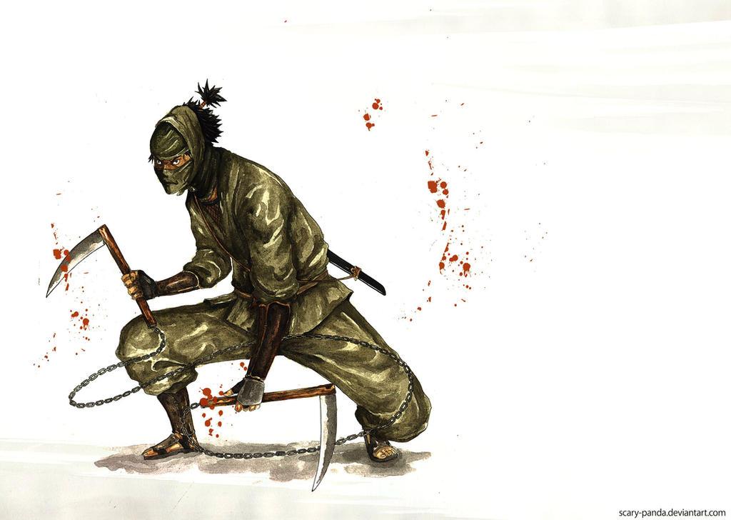 ninja by scary-PANDA on DeviantArt