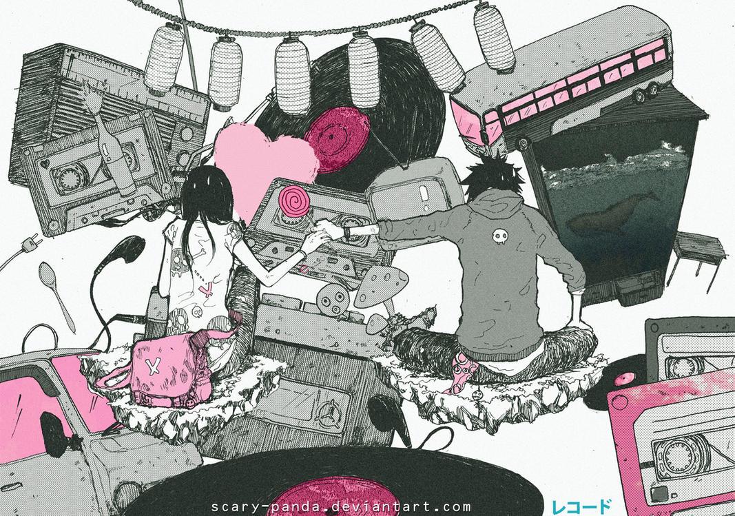 pink by scary-PANDA