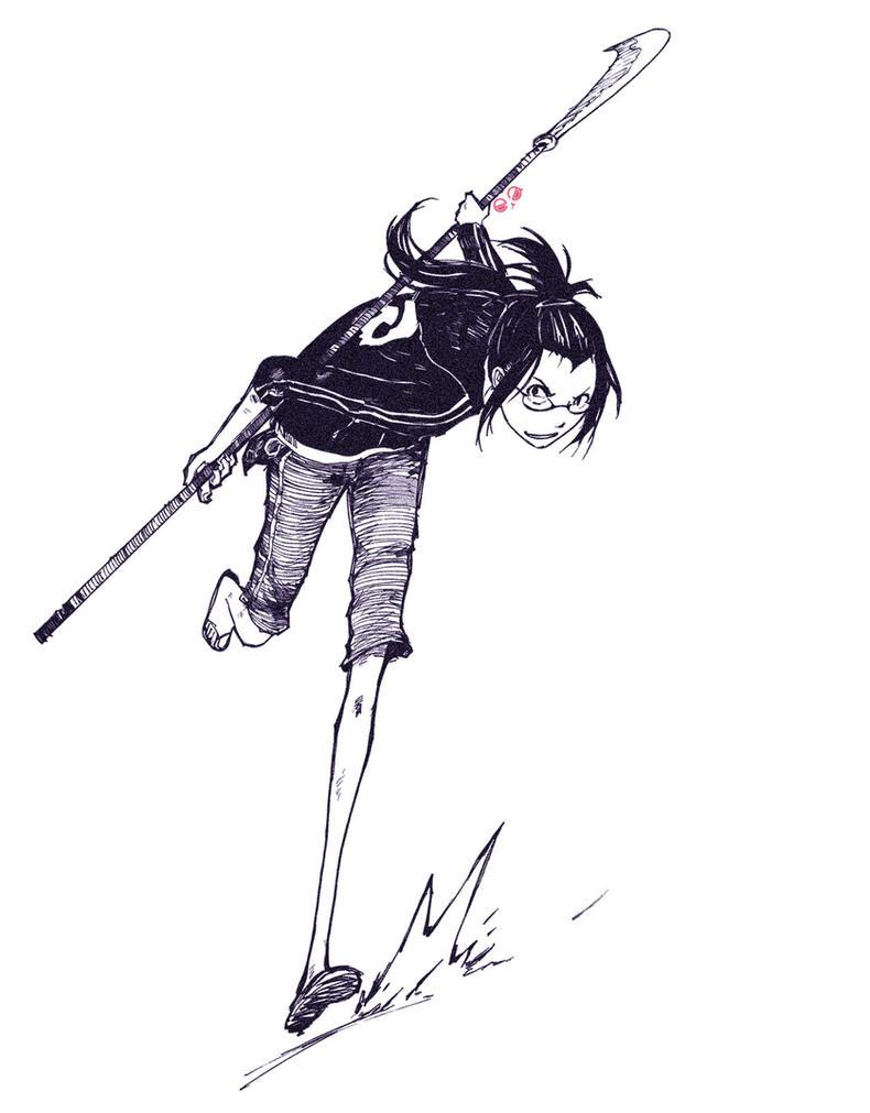 naginata by scary-PANDA