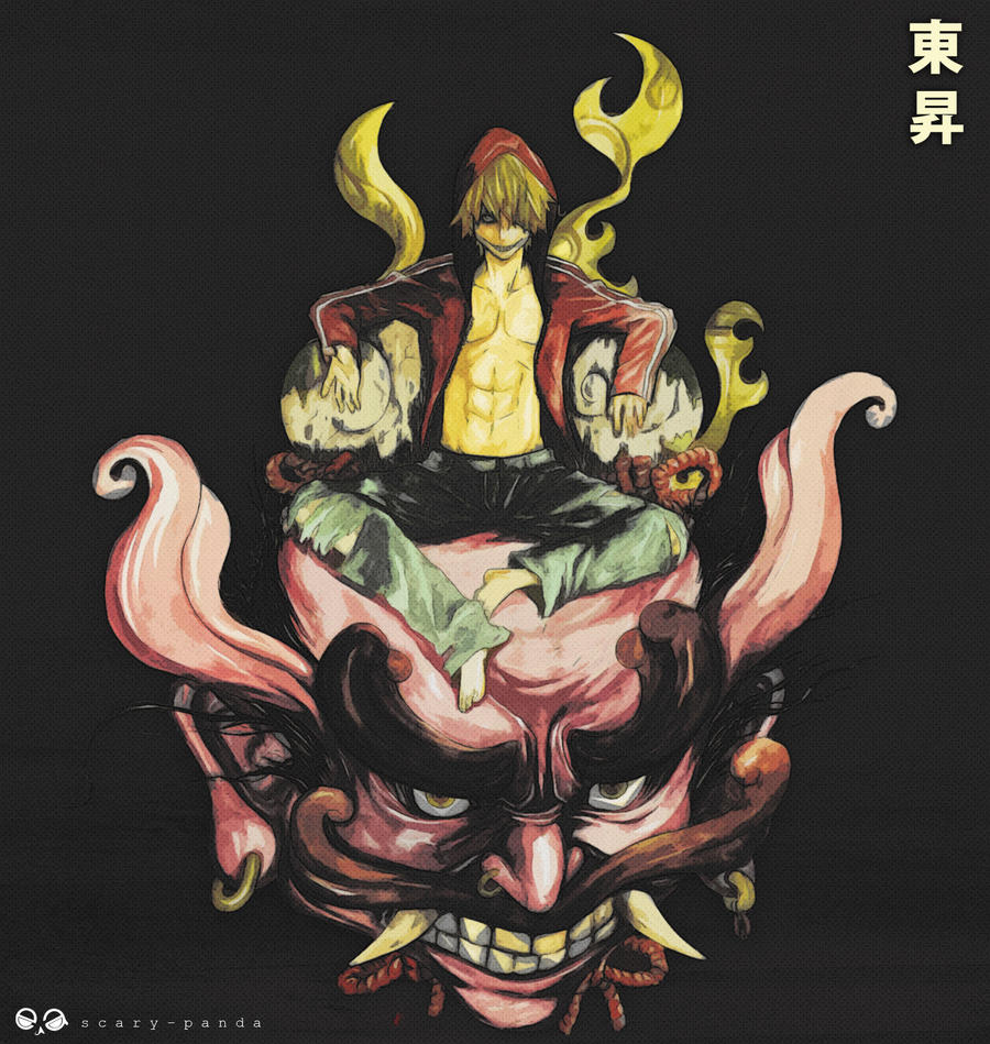 higashi by scary-PANDA