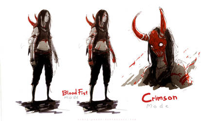blood fist
