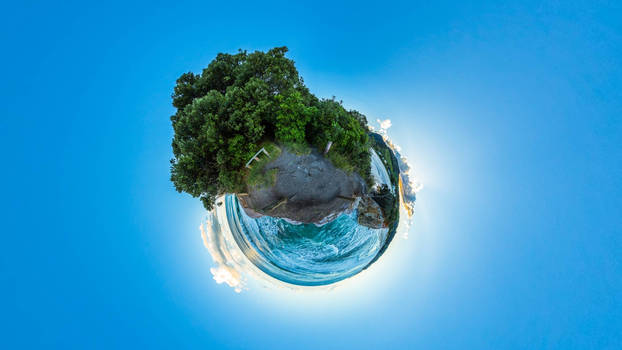 Little Planet - Globe view 01