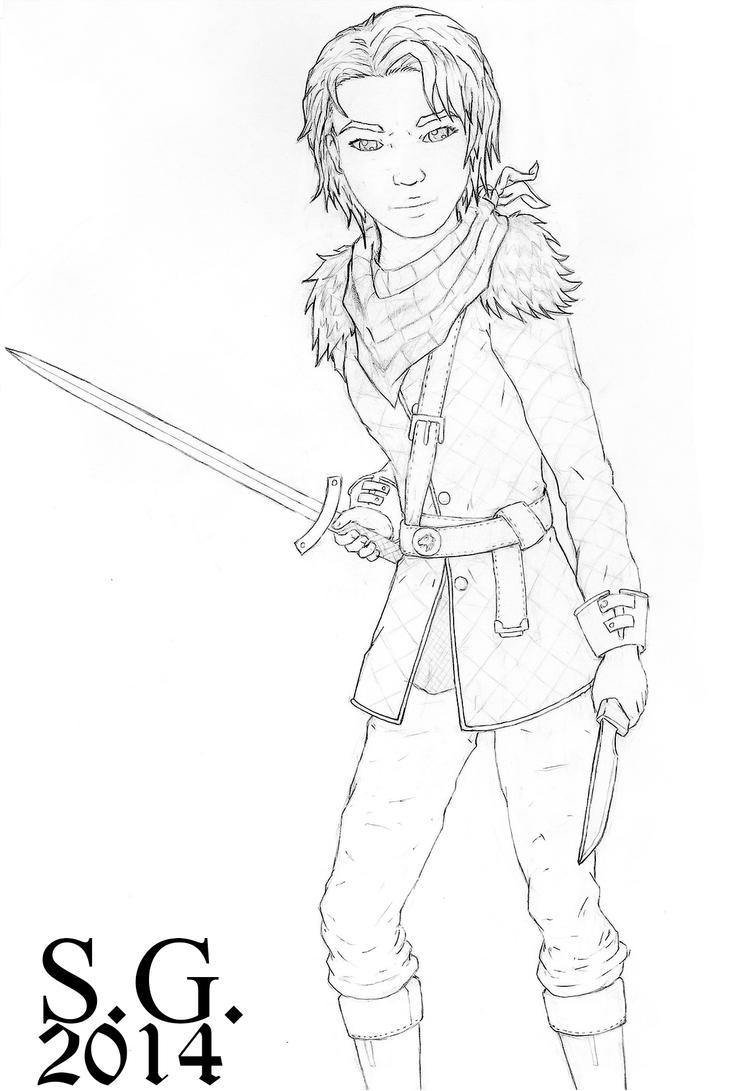 Arya Stark by SoSilk
