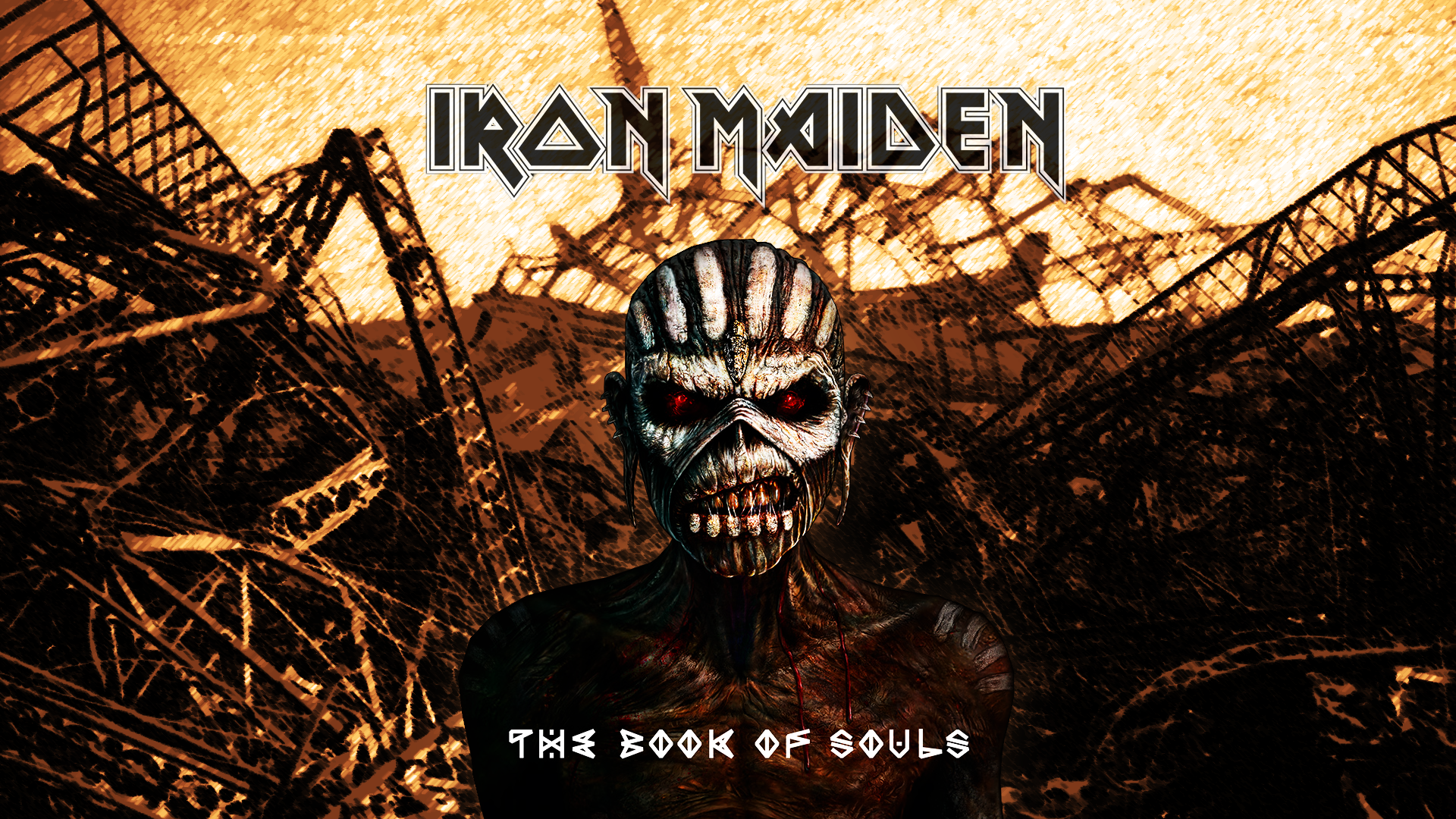 Iron Maiden The Book Of Souls R101 Wallpaper By Verxy On Deviantart