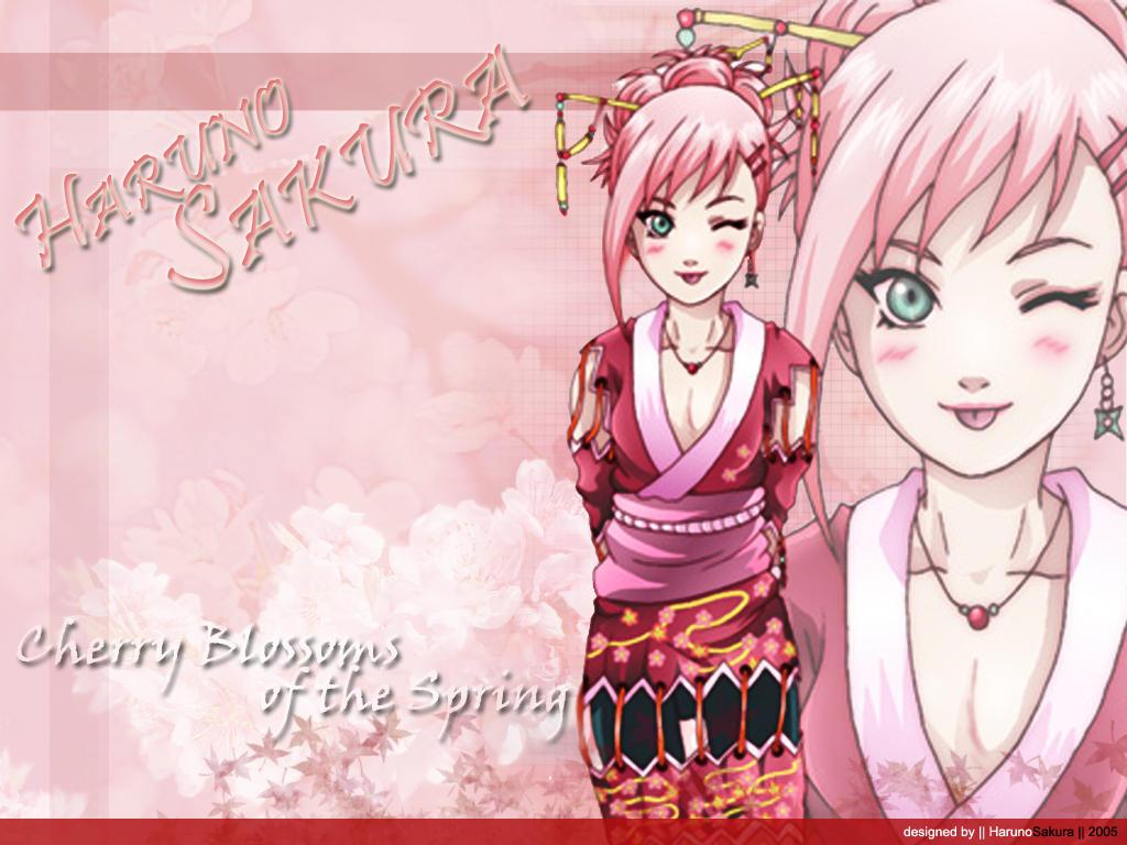 Haruno Sakura  Pink by harunosakura on DeviantArt