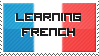 Learning French stamp by Shadziulec