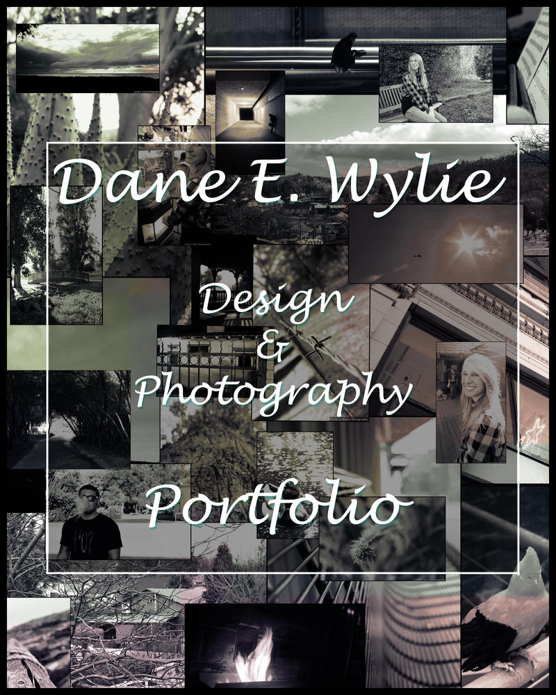 portfolio cover page by danewylie - Photography Cover Page