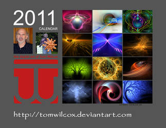 2011 Fractal Calendar B by TomWilcox