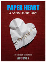 Paper Heart Movie Poster by TomWilcox