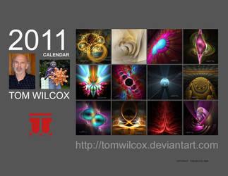 2011 Fractal Calendar A by TomWilcox