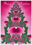 Fractal Christmas Card