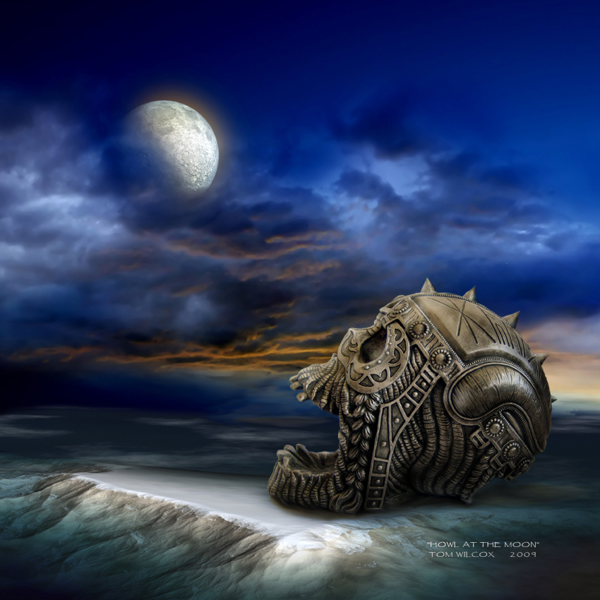 howl at the moon by tomwilcox on deviantart. Black Bedroom Furniture Sets. Home Design Ideas