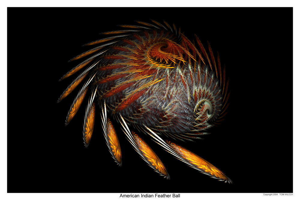 American Indian Feather Ball by TomWilcox on DeviantArt