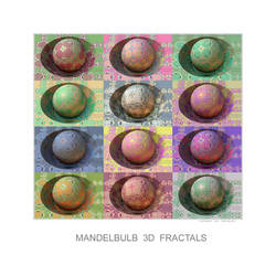 Mandelbulb 3D Fractals by TomWilcox