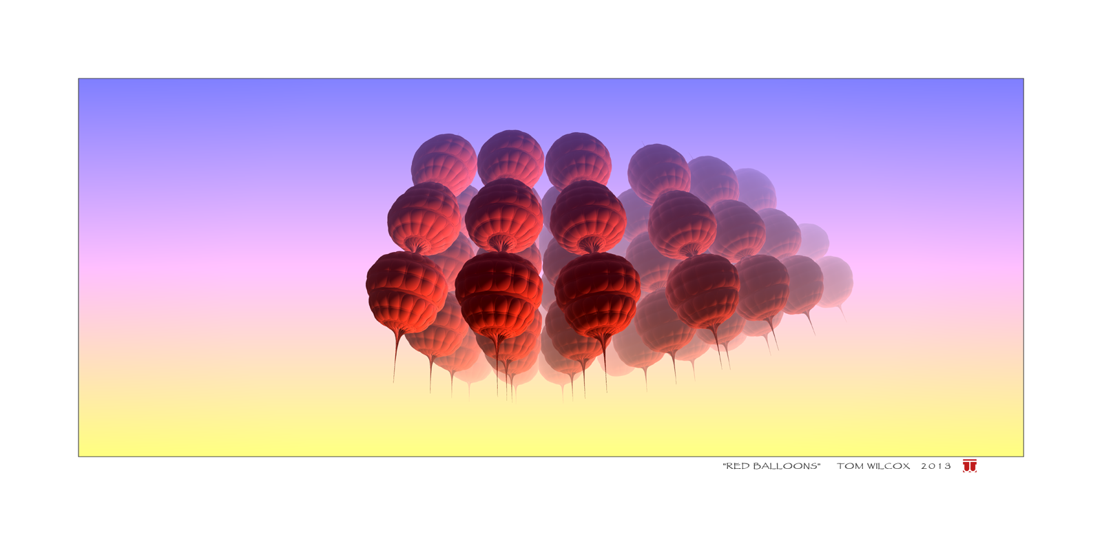 Red Balloons by TomWilcox
