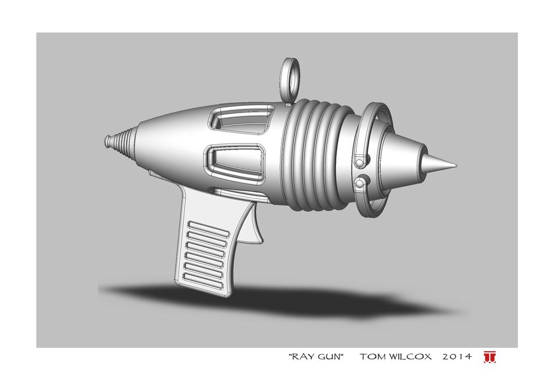 Ray Gun by TomWilcox