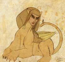 The Sphinx by LadyYonder