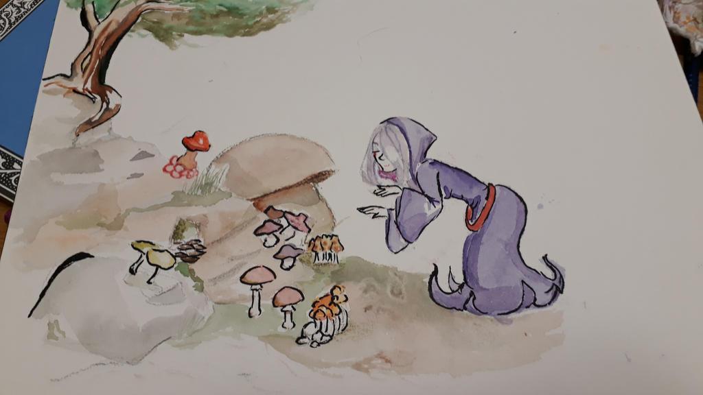 Mushroom by Momo-no-kuni