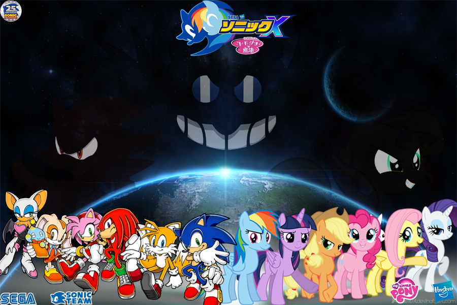 Sonic And My Little Pony Wallpapers By Trungtranhaitrung
