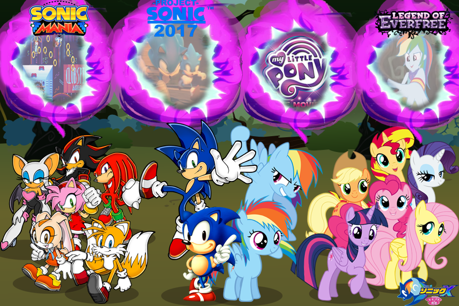 Sonic And My Little Pony Wallpapers 2016 To 2017 By Trungtranhaitrung