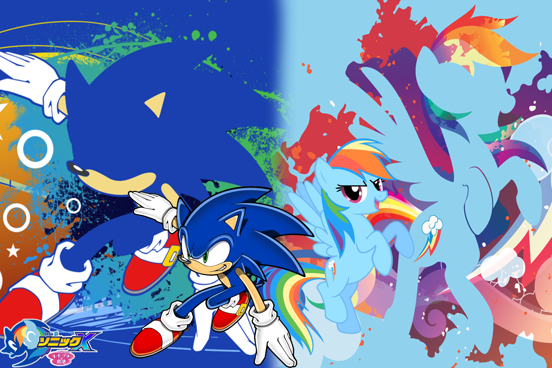 sonic and my little pony new wallpapers 1trungtranhaitrung on