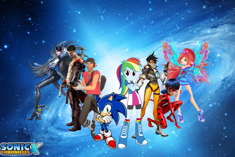 Sonic Chronicles X : Heroes by trungtranhaitrung