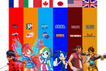 Sonic Chronicles X : Hetalia style