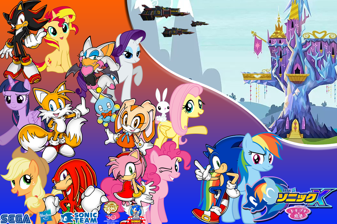 Sonic and My Little Pony : The New Edge by trungtranhaitrung