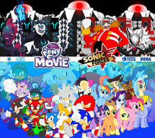 Sonic Forces and MLP Movie : Stand up and United by trungtranhaitrung