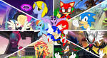 Sonic Forces and MLP Movie : Official Poster 2