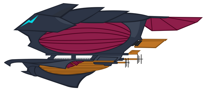 Commission : Storm Empire Airship