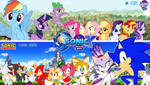 Sonic and My Little Pony : Friends