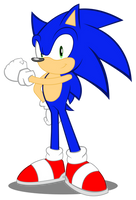 My first design : Sonic the Hedgehog in MLP style by trungtranhaitrung