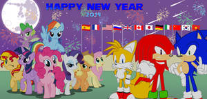 Happy New Year 2019 by trungtranhaitrung