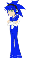 New Sonic the Hedgehog in EG style