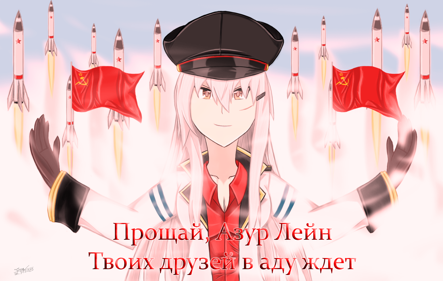 The Message To Azur Lane From Gangut Kancolle By Trungtranhaitrung On Deviantart