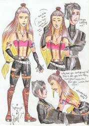 Andrea |New Ninjago OC by MaryH15
