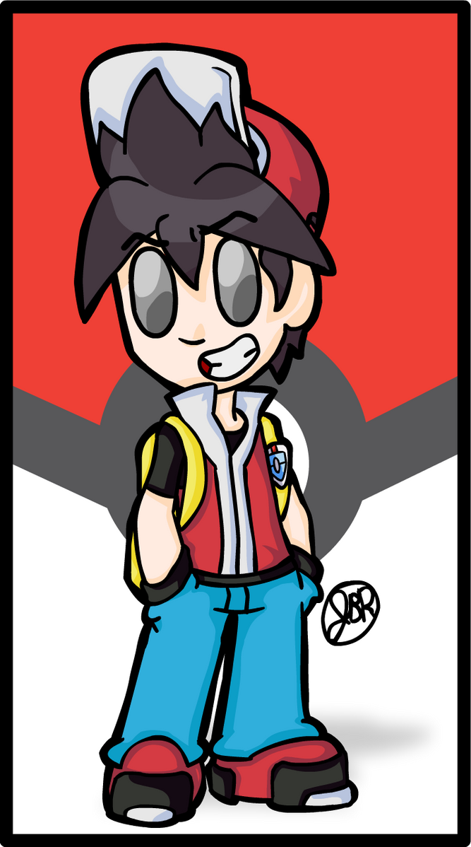 Pokemon Trainer Red (2017 Redux) by Magma743
