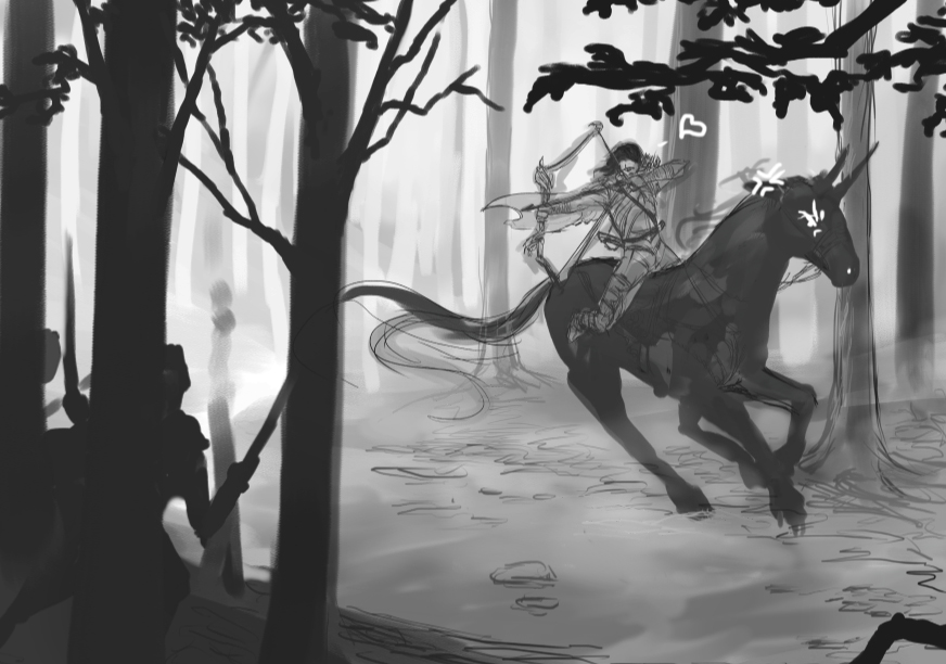 Hunt -WIP- by Frostnight