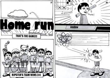 Mii Manga Baseball Page 14 by shadowjojo