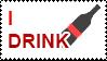 Please Drink stamp by OpposingViews