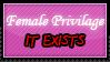 'Female Privilage' Confirmed